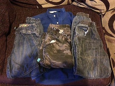 Boys Shirt and Jeans 8-10yo (4 items)