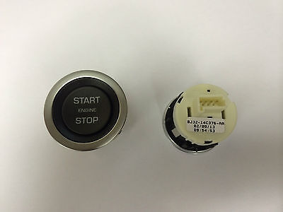 Range Rover/Jaguar Evoque Start Stop Engine Button - BJ32-14C376-AA - Genuine