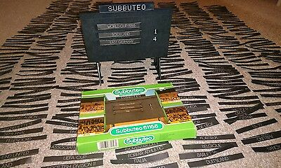 1980's Subbuteo Scoreboard (61158) Boxed with over 480 name cards