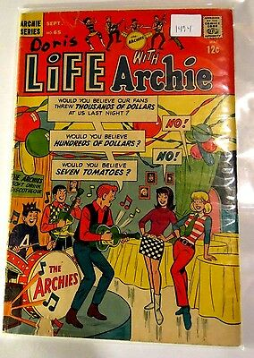 Life with Archie #65 Archie Comics Silver age Comic CB1494