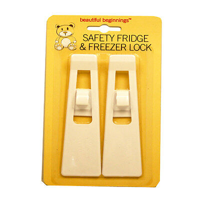 Baby Toddler Child Proof Fridge Freezer Safety Locks Two Pack Babyproofing