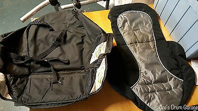 Graco Duo Quattro - Rear Seat Cover - Fabric Replacement