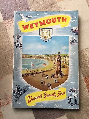 Weymouth Tourist Information Book & Separate Street Plan and Map Of Weymouth