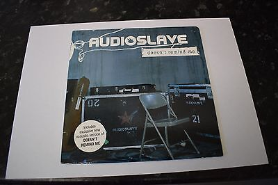 """AUDIOSLAVE Doesn`t Remind Me 7"""" Record (Rare/Mint Vinyl)"""