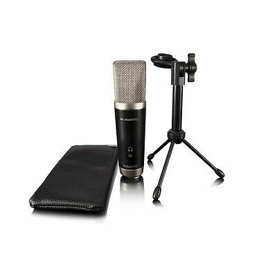M-Audio Vocal Studio Recording Package with USB Microphone & Software