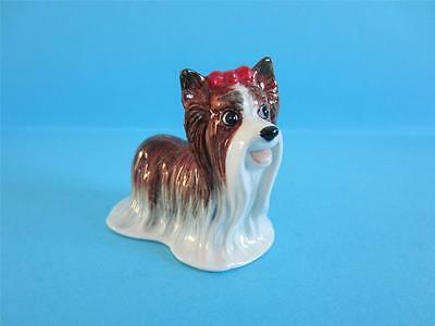 New Amazing Standing Yorkshire Terrier Figurine So Cute *mint Condition*