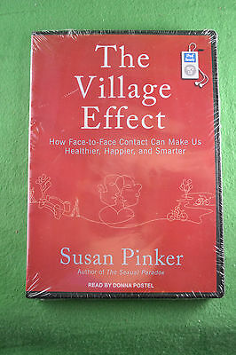 The Village Effect by Susan Pinker Audiobook MP3 Format iPod Ready Sealed