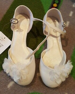 Debenham's Holy Communion/Occasion Elegant Girls Shoe - Size 12