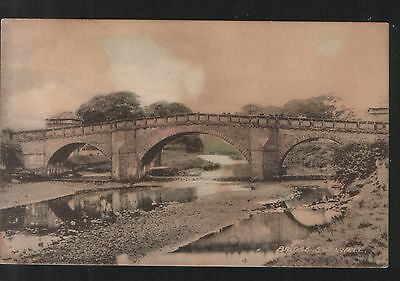 Postcard - The Bridge at Swalwell, Co.Durham. Unposted - looks early.