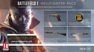 Battlefield 1 - HellFighter Pack (PS4 DLC / Bonus Code)