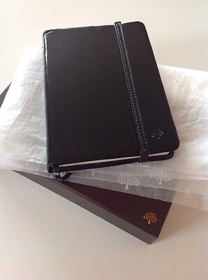 Mulberry Little Black Book Black Patent Leather New