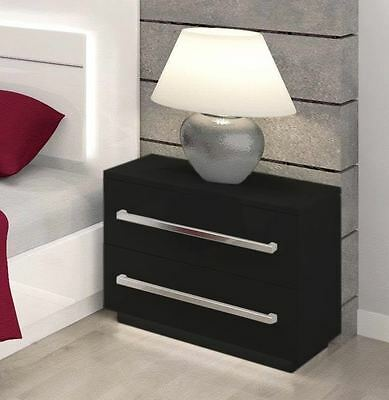 New Night Table Bedside Cabinet With Free Led Light 7 Working Days Delivery