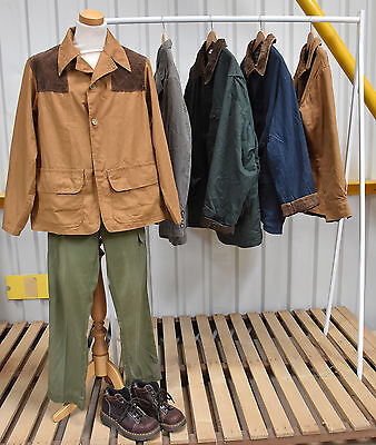 Job Lot Of 5 Coloured Workwear Style Jackets