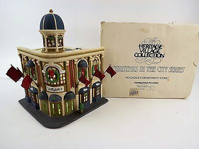 """Department 56 Heritage Village Collection """"Hollydale's Department Store"""" 5534-4"""
