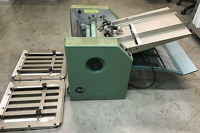 Baum 714 Ultrafold Baumfolder Friction Feed Paper Folder
