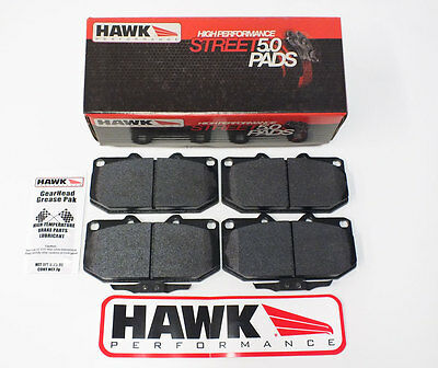 Hawk HPS 5.0 Fast Road Front Brake Pads to Fit Subaru Impreza Turbo/WRX