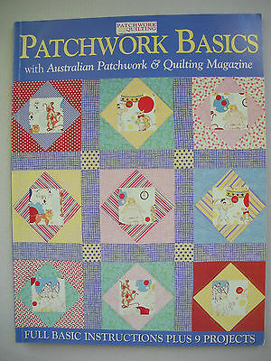 Patchwork Basics - Craftworld Books - Quilting Pattern Book