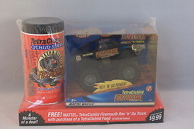 Hot Wheels FireMouth Monster Truck with Tetra Brand Cichlid Sticks Promotion