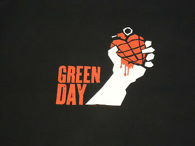 Green Day American Idiot Tour 2005 Graphic T-Shirt - Medium
