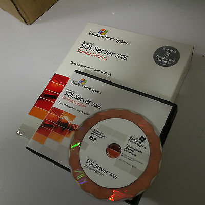 Microsoft SQL Server 2005 - Standard  Edition - Full Product - 1 Processor