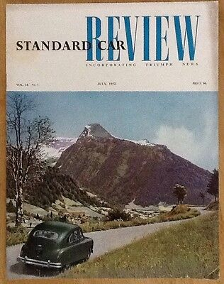 Standard Car Review Incorporating Triumph News, Number 7 July 1952