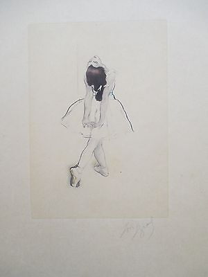 LOUIS LEGRAND ETCHING 30x25cm HANDSIGNED
