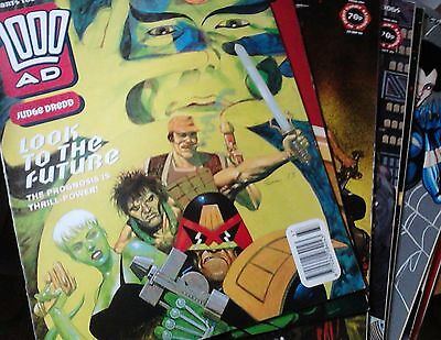 2000AD - Progs 852-859 (8 issues from 1993) - Judge Dredd