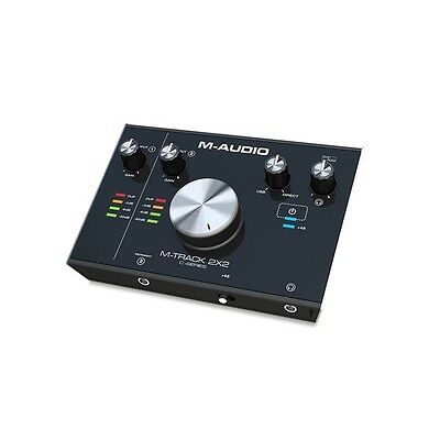 M-Audio M-Track 2X2 Portable 24-bit/192khz Studio Quality USB Audio Interface