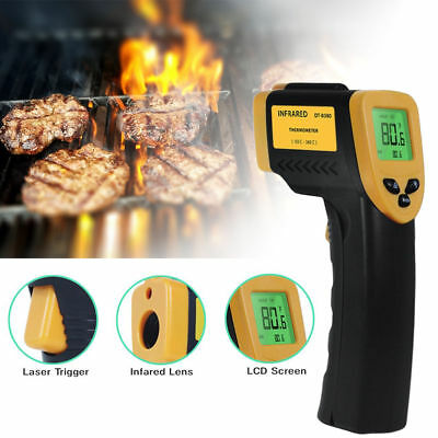 Temp Meter Temperature Gun Non-contact Digital Infrared Laser IR Thermometer