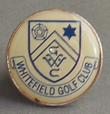 The Whitefield Golf Club Coin Type Golf Ball Marker