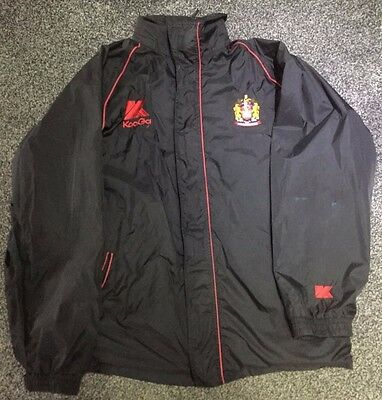 wigan warriers rugby league jacket 3xl retro style