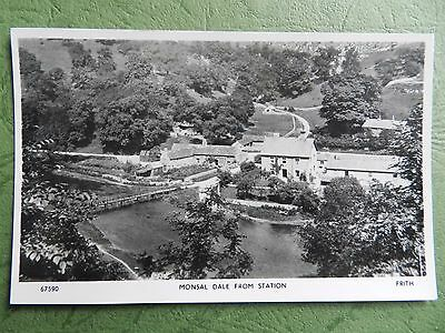 Old Real Photo Postcard - Monsal Dale From Station , Derbyshire
