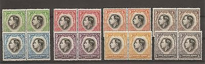 lot de timbres de NAMIBIE , SWA 1937 King GE VII  suidwes / south west Africa