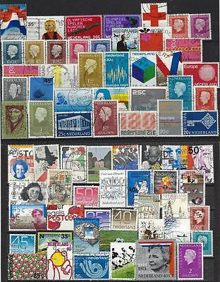 """Lot Timbres Obliteres """"pays-Bas"""" (4)"""