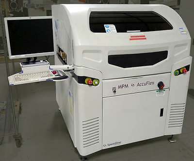 Speedline MPM Accuflex Screen Printer w 2D inspect
