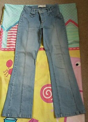 VINTAGE LADIES STRETCH JEANS. SIZE 8s. FROM THE 80s.
