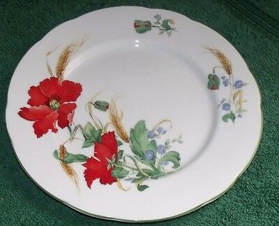 Duchess Poppies Salad Plate