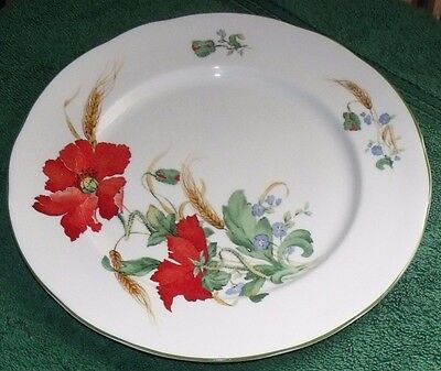 Duchess Poppies Dinner Plate