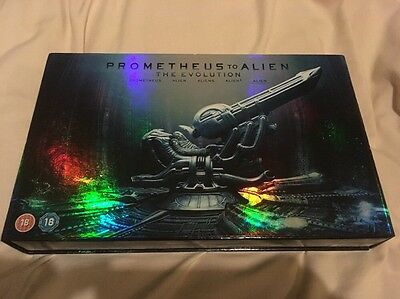 From Prometheus To Alien - The Evolution Limited Edition Deluxe 9 Blu-Ray Set