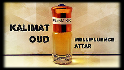 Kalimat Oud - Spicy Woody Oud Scent - Arabian Attar / Perfume Oil - 3ml