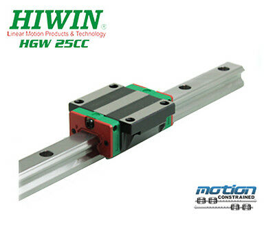 New Hiwin HGW25CCZAC Flange Block Linear Guides HGW25 Series up to 4000mm Long