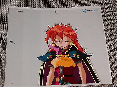 The Slayers hand-painted Production Anime Cel - Lina Inverse #2 + Sketch