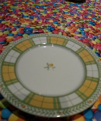 St Michael's yellow rose side plate