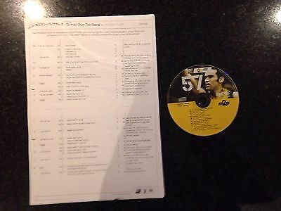 Les Mills Body Attack 57 CD and a Copy Of The Choreography Notes.