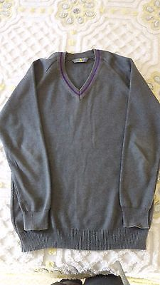 "Boys School Jumper Whitworth 32"" Grey"