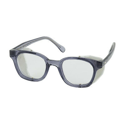 Bouton Traditional Safety Glasses with Side Shields, Clear Anti-fog Lens