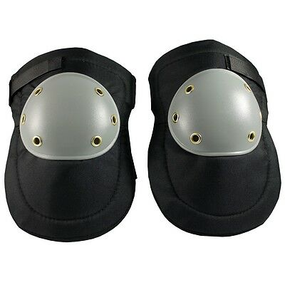 Hard Plastic Cap, Gray on Black, Hook and Loop Closure - 291-100