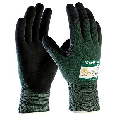 MaxiFlex Cut Resistant Work Gloves with Nitrile Foam Coated Grip, Small
