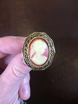 Vintage Oper Cameo Ring