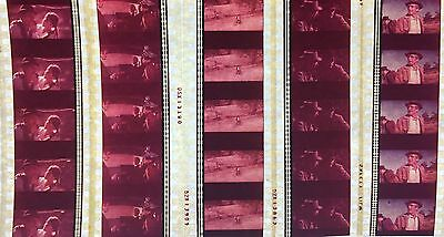Butch Cassidy and the Sundance Kid - 5 strips of 5 35mm Film Cells